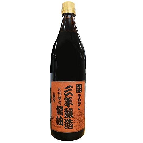 かめびし 三年醸造醤油 900ml
