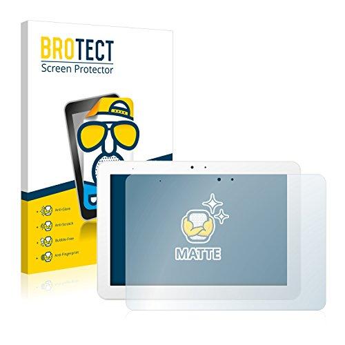 BROTECT 2X Entspiegelungs-Schutzfolie kompatibel mit BQ Edison 3 Bildschirmschutz-Folie Matt, Anti-Reflex, Anti-Fingerprint