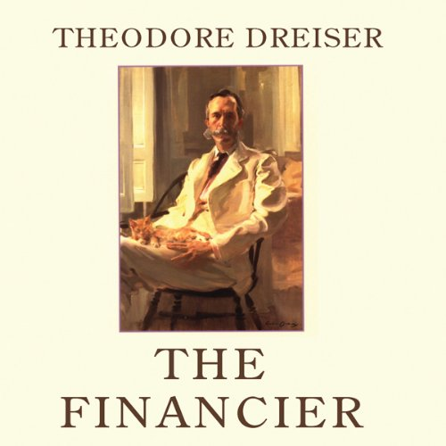The Financier audiobook cover art