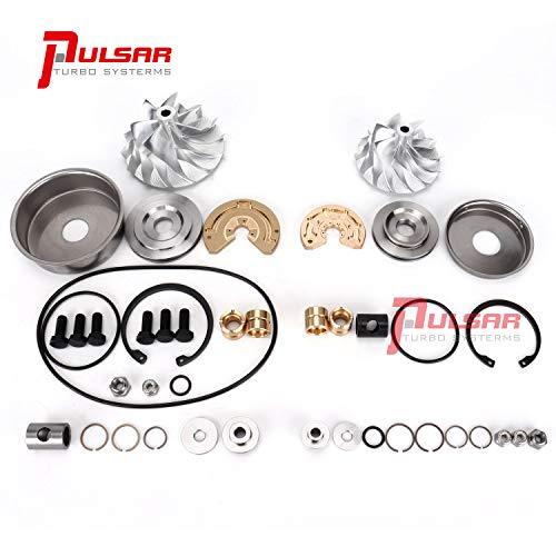 PULSAR 6.4 Turbo Rebuild Kit Billet Compressor Wheel Combo