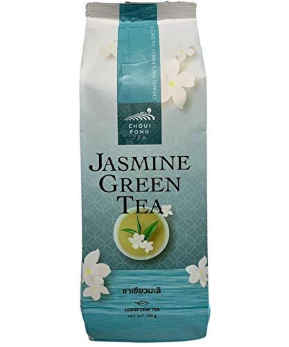 Té verde jazmín búho fung té verde perfumado flores de jazmín, té verde de tailanda a granel, varias infusiones de té detox relajante desintoxicante dieta pérdida de peso sueño de alta calidad