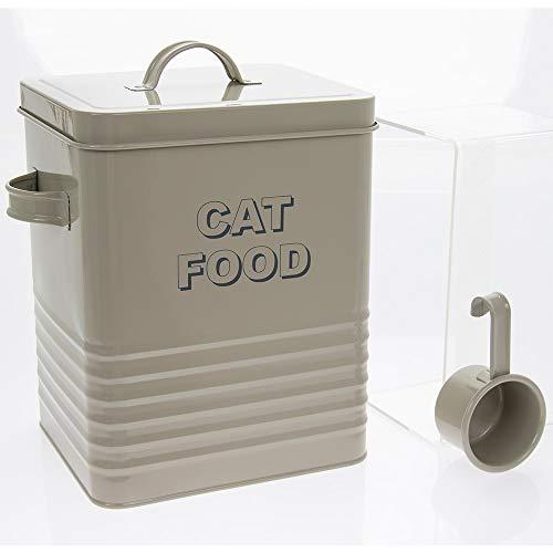 Lesser & Pavey Sweet Home Katzenfutterdose, 25 cm hoch