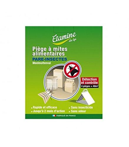 Piège naturel mites alimentaires - 4 pièges naturels - Etamine Du Lys