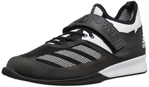 adidas Men's Shoes | Crazy Power Cross-Trainer, Black/White/Black, (8 M US)