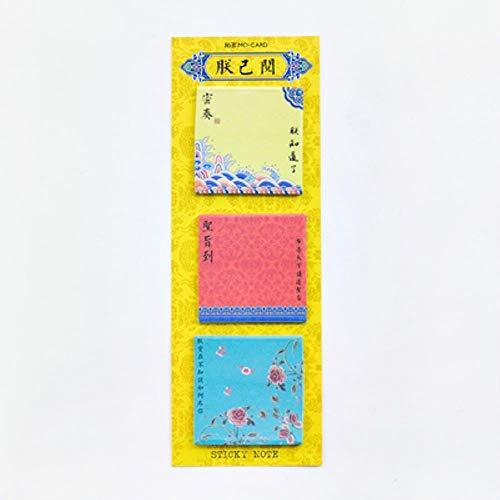 60 vellen/partij Creative Lange Versie Kleurrijke Memo Pad Zelfklevende Sticky Notes Office School benodigdheden Memo Pad briefpapier