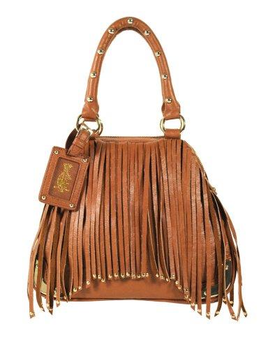 2ef6677facae Christian Audigier Top Handle Handbag Joanna 3PPU032CAR CAMEL Features and  Description