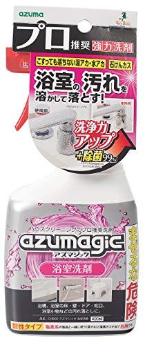 アズマ 洗剤 アズマジック浴室洗剤 正味量:400? 浴槽や浴室まわりの水アカ・石けんカスを落とす。 CH860