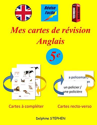Mes cartes de révision Anglais 5e