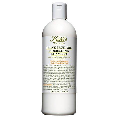 Kiehl \'s Olive Fruit Oil Nourishing Shampoo, 250ml mit Avocado Öl, Zitrone Extrakt,/für dehydrierte, geschädigtes Haar