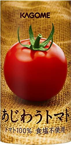 カゴメ あじわうトマト リコピン濃縮 カゴメの技術が凝縮されたトマトジュース 食塩・保存料・着色料不使用 30本