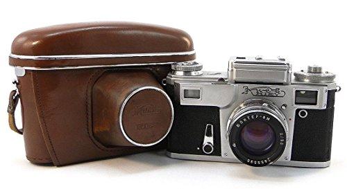 KIEV-4 Russian USSR Contax Rangefinder RF 35mm Camera Jupiter-8m 2/50 Lens
