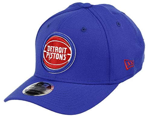New Era Detroit Pistons 9fifty Stretch Snapback Cap NBA Essential Blue - One-Size