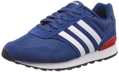 adidas 10K Zapatillas de Running Hombre, Azul (Legend Marine/Ftwr White/Active Red Legend Marine/Ftwr White/Active Red), 44 2/3 EU