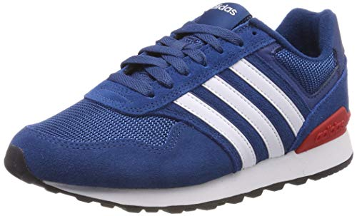 adidas 10K Zapatillas de Running Hombre, Azul (Legend Marine/Ftwr White/Active Red Legend Marine/Ftwr White/Active Red), 44 2/3 EU