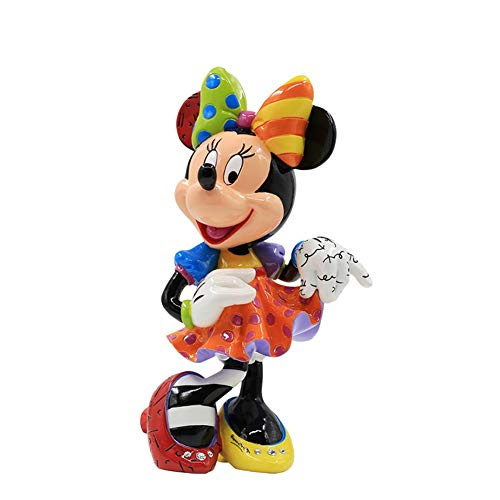 Anime Character Handmade Model Mickey Mouse and Donald Duck Around Minnie Decoration Doll Colorful Statue Creative Birthday Gift H-2020-4-13 image