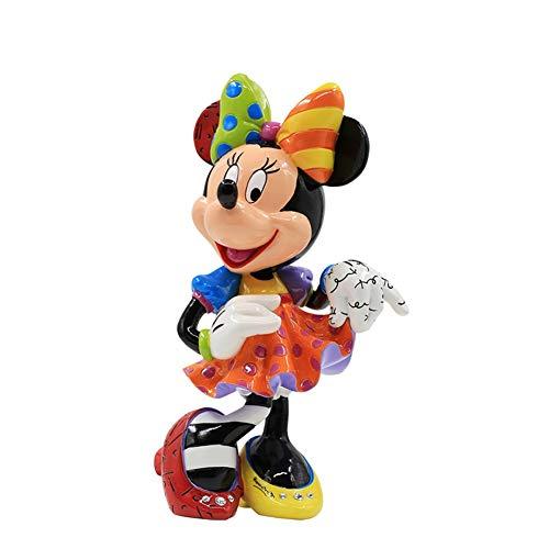 Carácter del Animado Hecho a Mano Modelo Mickey Mouse y el Pato Donald Alrededor de Minnie Decoración…