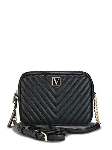 Victoria`s Secret - La bandolera con cremallera superior Victoria- negro
