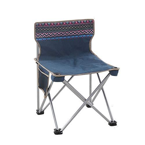 ZA Outdoor klapstoel, draagbare kruk, lunchpauze schetsstoel, maanstoel, klapstoel, visstoel, luxe kunstenaar, sterk en robuust, stoel plus katoen, met functioneel pakket