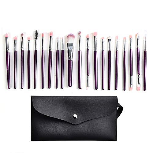 20 Packungen Make-up Pinsel Set Premium Synthetische Foundation Pinsel kann für Gesichtspuder,...
