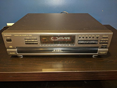 Technics SL-PD887 CD Player Changer w/ 5 Disc Rotary Changer System