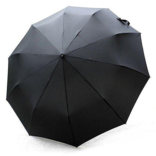 TRADE® Paraguas de viaje, Automáticamente abrir cerrar de protección UV un Gran...