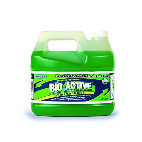 Walex BIO-72168 Bio-Active Holding Tank Deodorizer Tip and Pour Bottle (168 oz.)