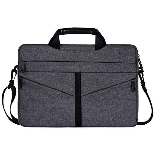 Yhuisen 13.3 15.6 Inch Shoulder Bag For E5450 Dell Xps Women Men Notebook Cover Case Sleeve For Hp Pavilion G6 Envy M6 Spectre X360 (Color : Dark Gray, Size : Hp pavillion x360 14)