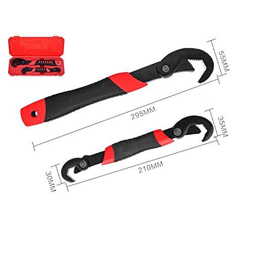 GYMAA Schraubenschlüssel 2 Teile/los 6-32 Mm Set Universalschlüssel Multifunktionale Einstellbare Tragbare Drehmoment Ratsche Ölfilter Handwerkzeug