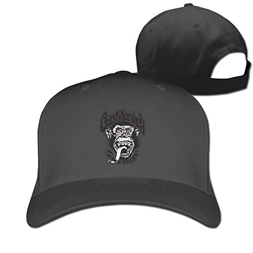 Unisex Gas Monkey Big Logo Sun Hat Black Sombreros y Gorras