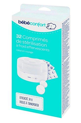 bébé confort 32 Comprimés de Stérilisation Blanc