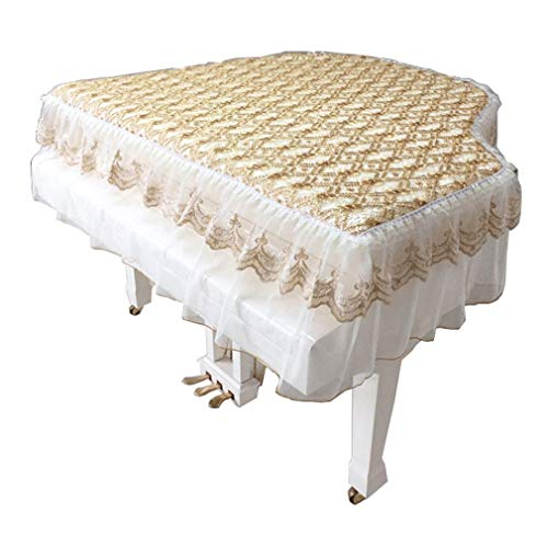Learn More About Piano cover Grand New Modern Simple Lace Fabric Dust Cover (Color : Single Stool, S...