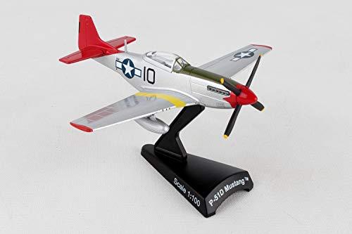 Daron Worldwide Trading P-51 Mustang Tuskegee 1:100 Vehicle
