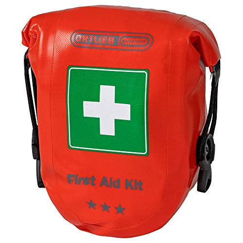 Ortlieb Unisex-Adult First AID Erste Hilfe Kits, Regular signalrot, One Size