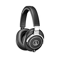 small Audio-Technica ATH-M70X Closed Dynamic Professional Studio Monitor Headphones