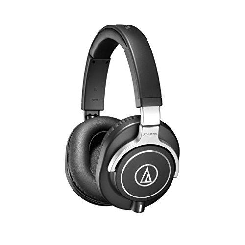 Audio-Technica ATH-M70X Auriculares Profesionales para Monitorización en Estudio, Negro/ Plata