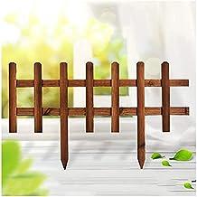 WXking Decoratieve hekken fee tuin accessoires fairy tuin benodigdheden beschermende bewaker houten grens rand hek decorat...
