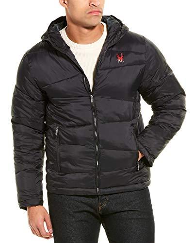Spyder Mens Nexxus Puffer Jacket, M, Black