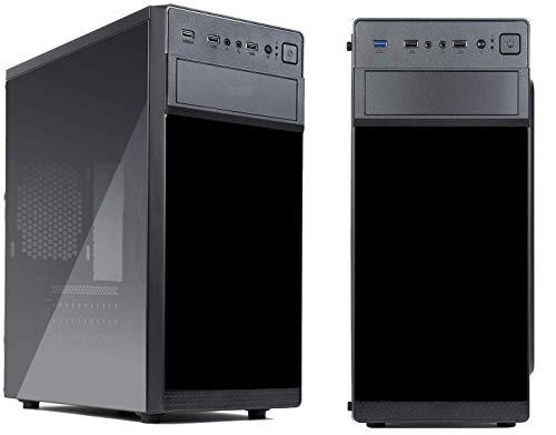 PC Desktop Office Fast Two Intel I5 7400 Quad Core Up 3,5 Ghz / Ram 8 Gb Ddr4 2400 Mhz / Ssd 480 Gb / Grabadora Dvd / Wifi / Vga Dvi-D Hdmi / USB 3.0 / Licencia Windows 10 Pro Esd