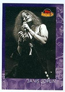Janis Joplin trading card (Singer Piece of my Heart) 2001 Topps #148 American Pie