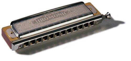 Hohner Super Chromonica Chromatic Harmonica, Key of Bb