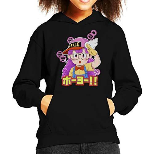 Cloud City 7 Arale Norimaki Hoyo Dr Slump Kid's Hooded Sweatshirt