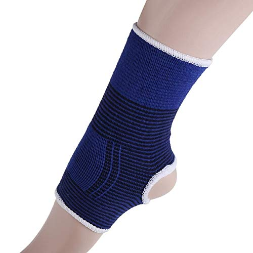 Men's Ankle Leg Injury Fitness Sleeve Elastic Bandage or Basketball Running Breathable Wristband Knee Pads - Ankle Brace Band