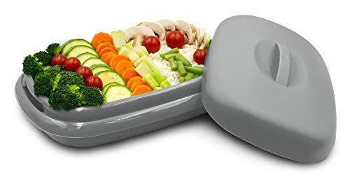 microondas gris de la marca Torosqui