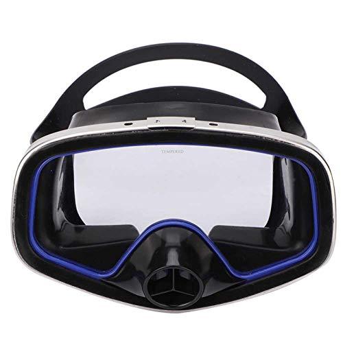 DAUERHAFT con Banda Ajustable Gafas de natación antivaho Equipo de esnórquel Marco de Acero Inoxidable, para Actividades subacuáticas, para Buceo Libre