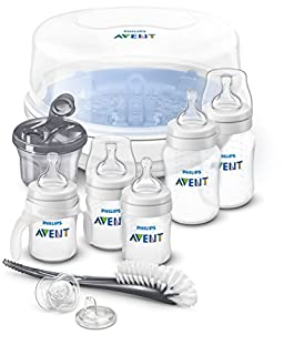 Philips Avent Anti-Colic Bottles Essentials Set, SCD398/01 (B01LRVK5GO) | Amazon price tracker / tracking, Amazon price history charts, Amazon price watches, Amazon price drop alerts