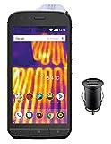 Caterpillar Cat S61 Smartphone (13,21 cm (5.2 Zoll) FHD IPS Bildschirm, 64 GB interner Speicher & 4 GB RAM, Dual-SIM, Android 8.0) Schwarz - Exklusive Amazon Edition inkl. 12V KFZ Adapter
