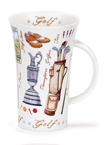 Golf taza - de porcelana fina estilo de Dunoon