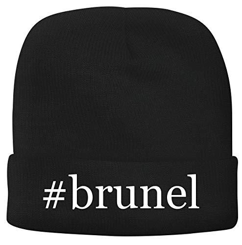 BH Cool Designs #Brunel - Men's Hashtag Soft & Comfortable Beanie Hat Cap, Black, One Size