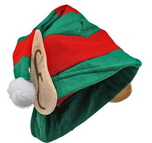Santa's Little Helper Elf Hat with Cloth Ears