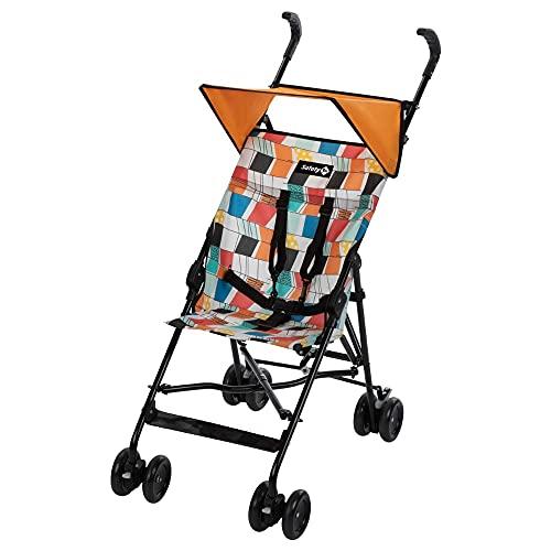 Safety 1st Peps Buggy mit Sonnenverdeck, Wendiger Kinderwagen Nutzbar ab 6 Monate Bis max. 15 kg, Kompakt Zusammenfaltbar, Wiegt nur 4, 5 kg, Geronimo's Arrows (mehrfarbig)